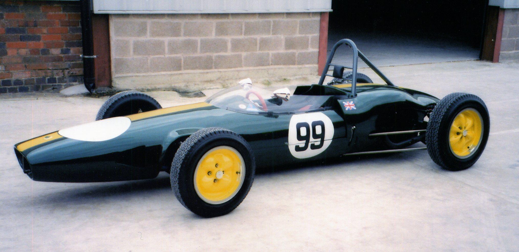 The Formula Junior Cars 1959-