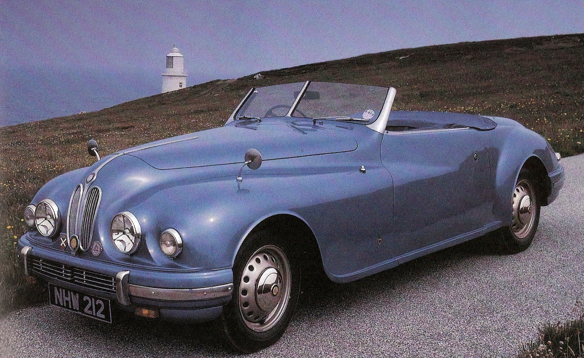 In 1950 Bristol introduced the 402, which was an evolutionary convertible ...