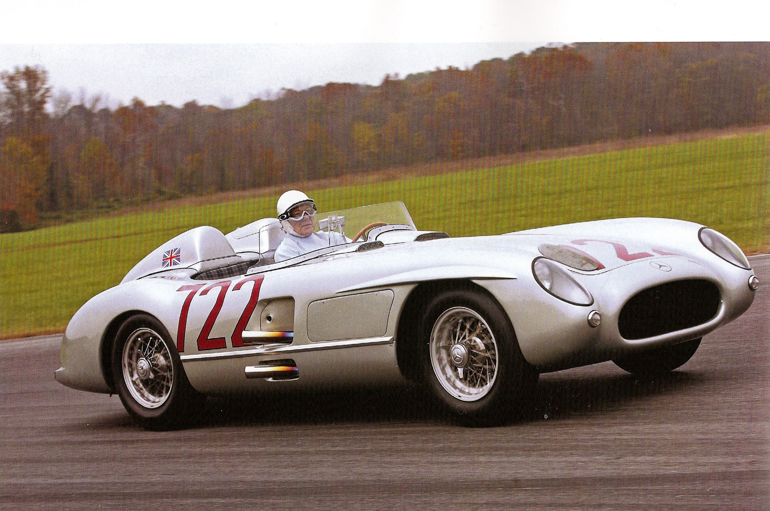 1955 mille miglia a historic race win for mercedes benz for Mercedes benz race car