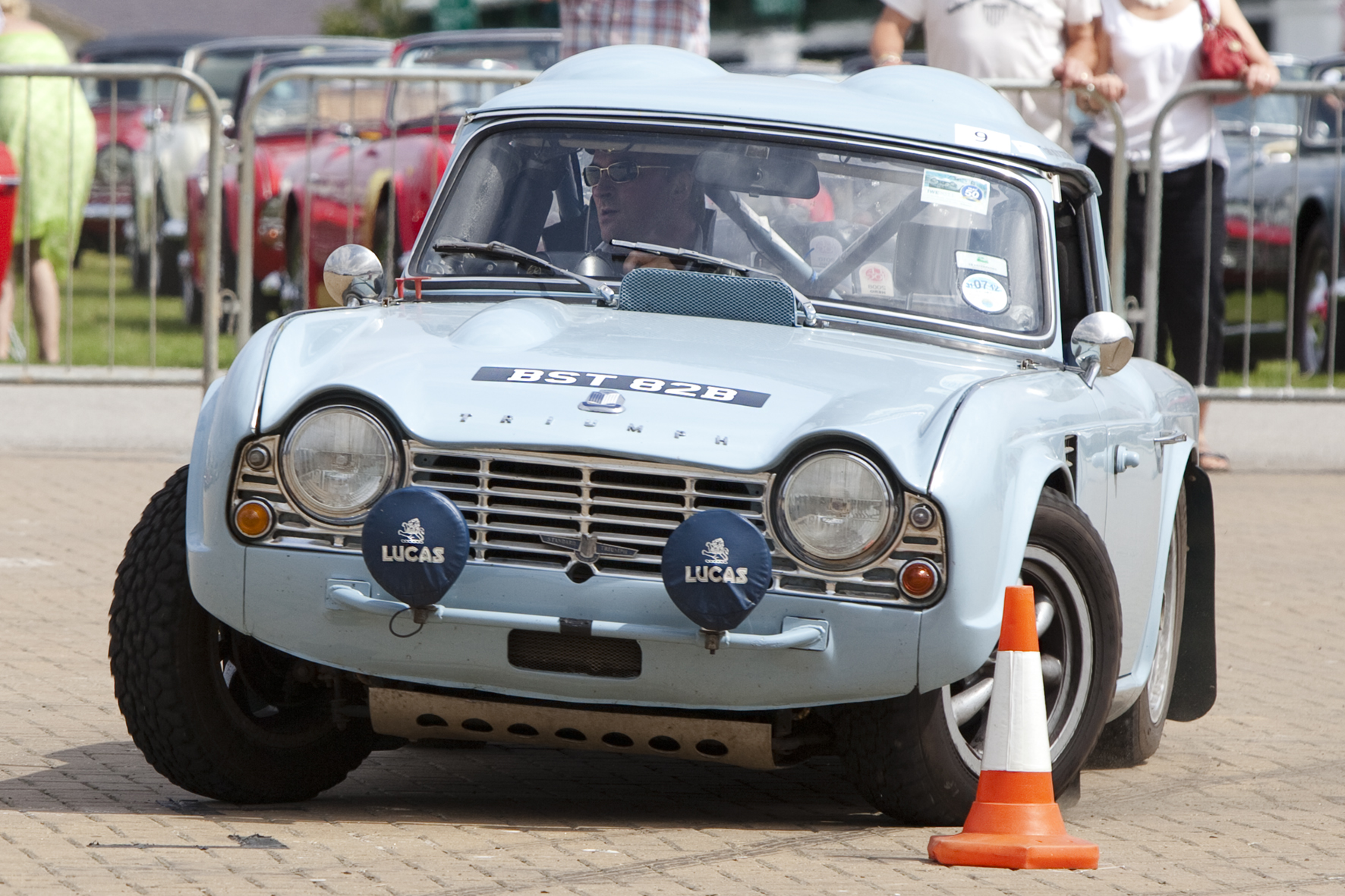 Triumph Tr4 Ex Works Rally Cars In The Uk