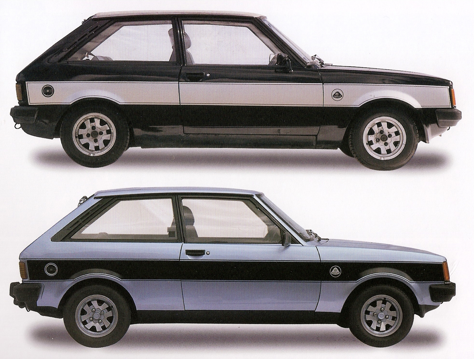 Two Color Schemes for the Talbot Sunbeam Lotus