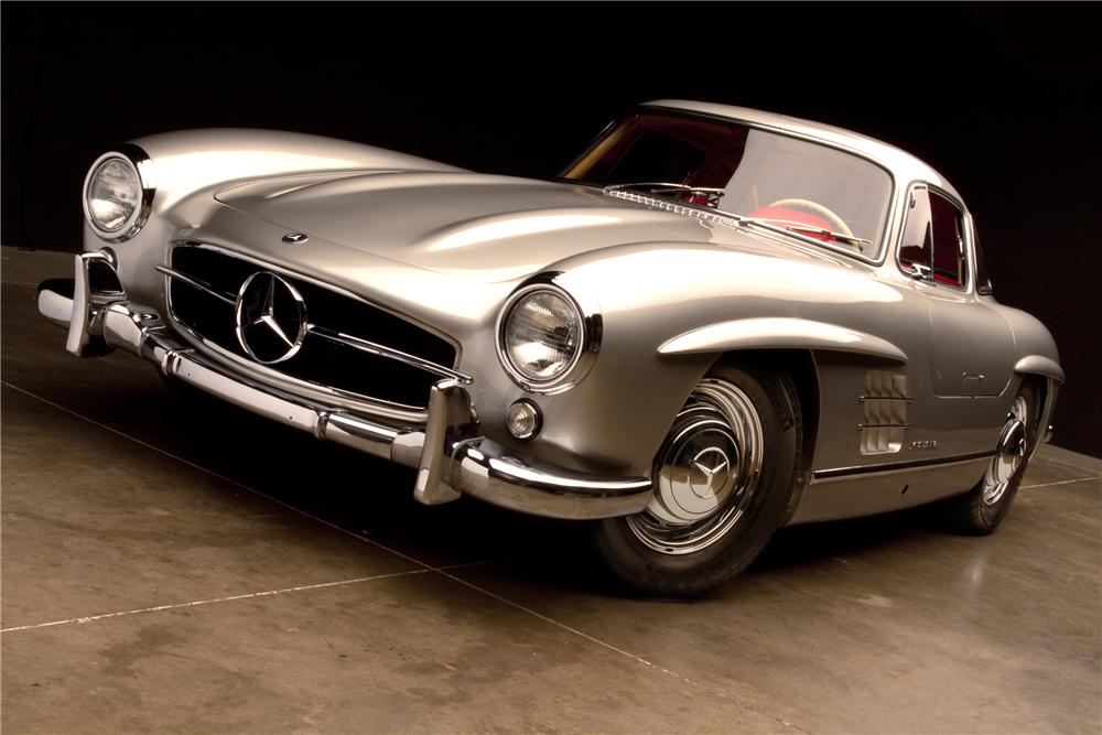 mercedes benz 300sl gullwing sold for 2 200 000 at barrett jackson. Cars Review. Best American Auto & Cars Review