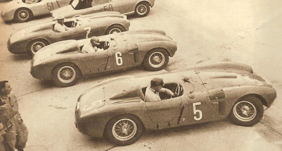 The Lancia D23 Race Car