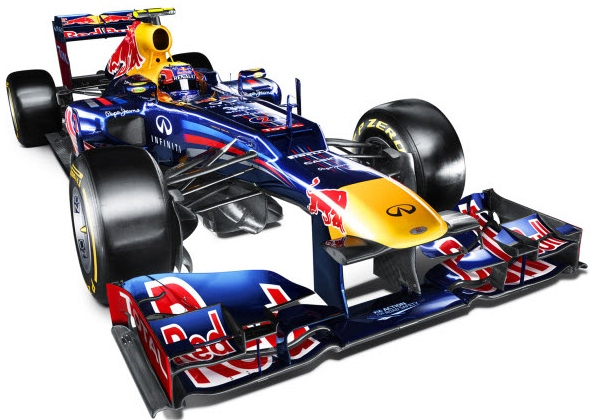 Red Bull Racing Introduces Formula Car