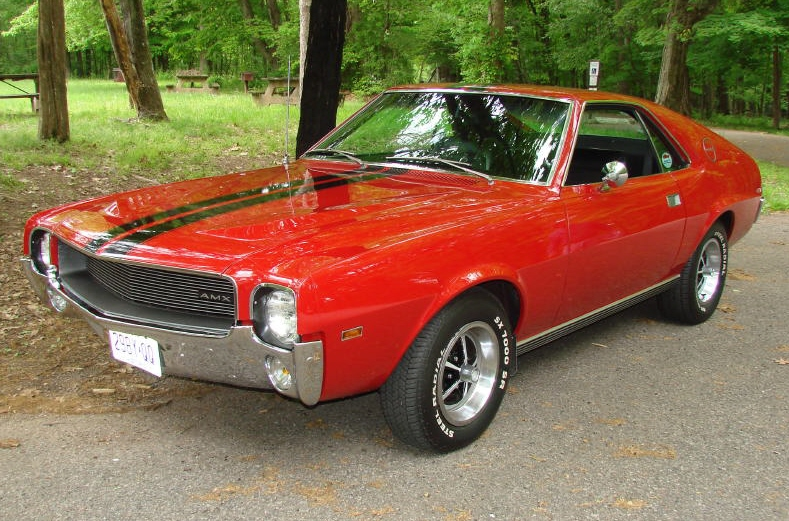 The American Motors Amx The Two Seat Muscle Car