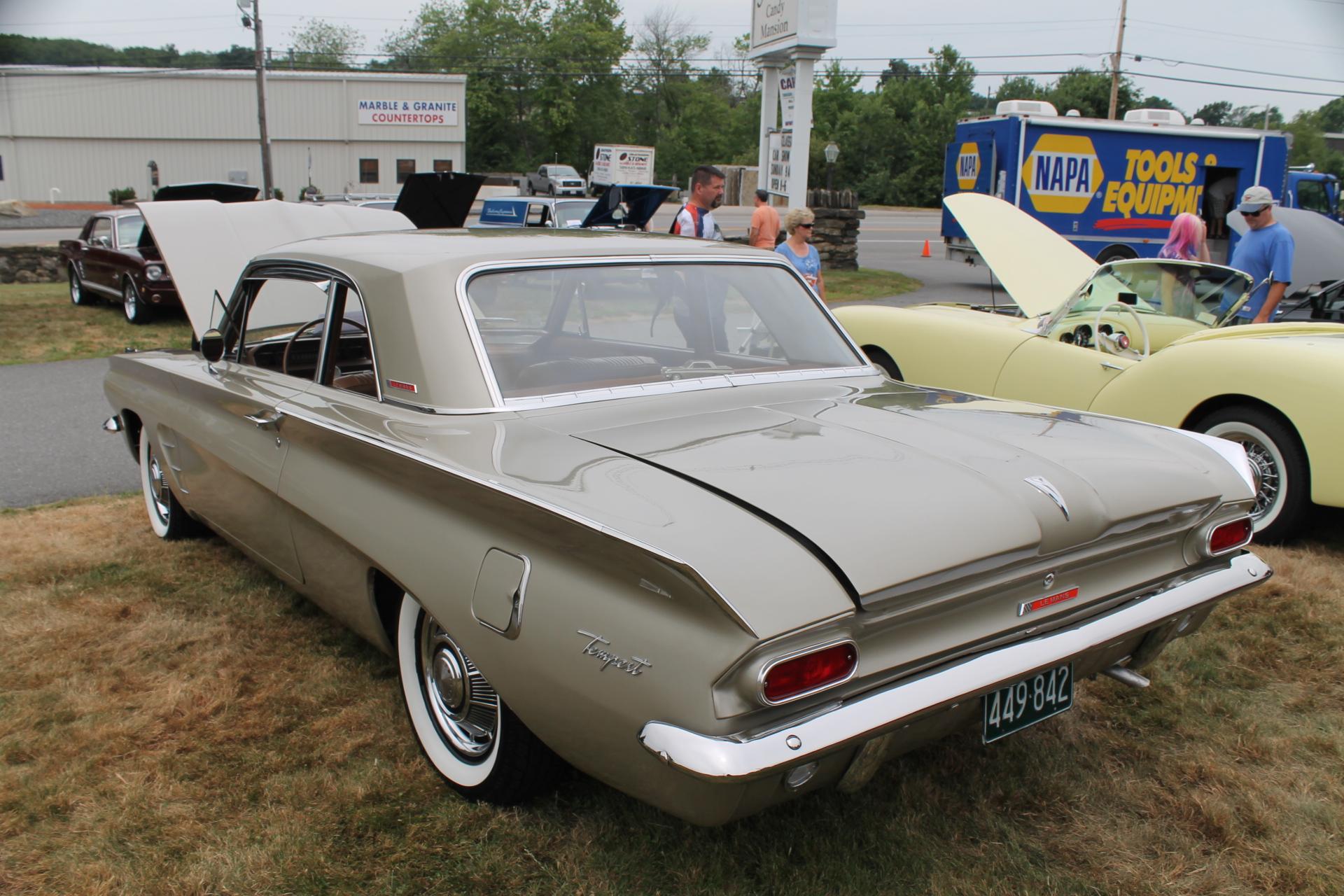 1962 Pontiac Tempest The 1962 Pontiac Tempest A Car With Half Of An Engine