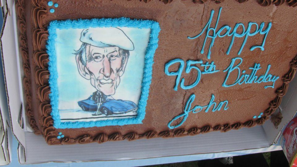 Birthday Cake For John : John Fitch s 95th Birthday Party