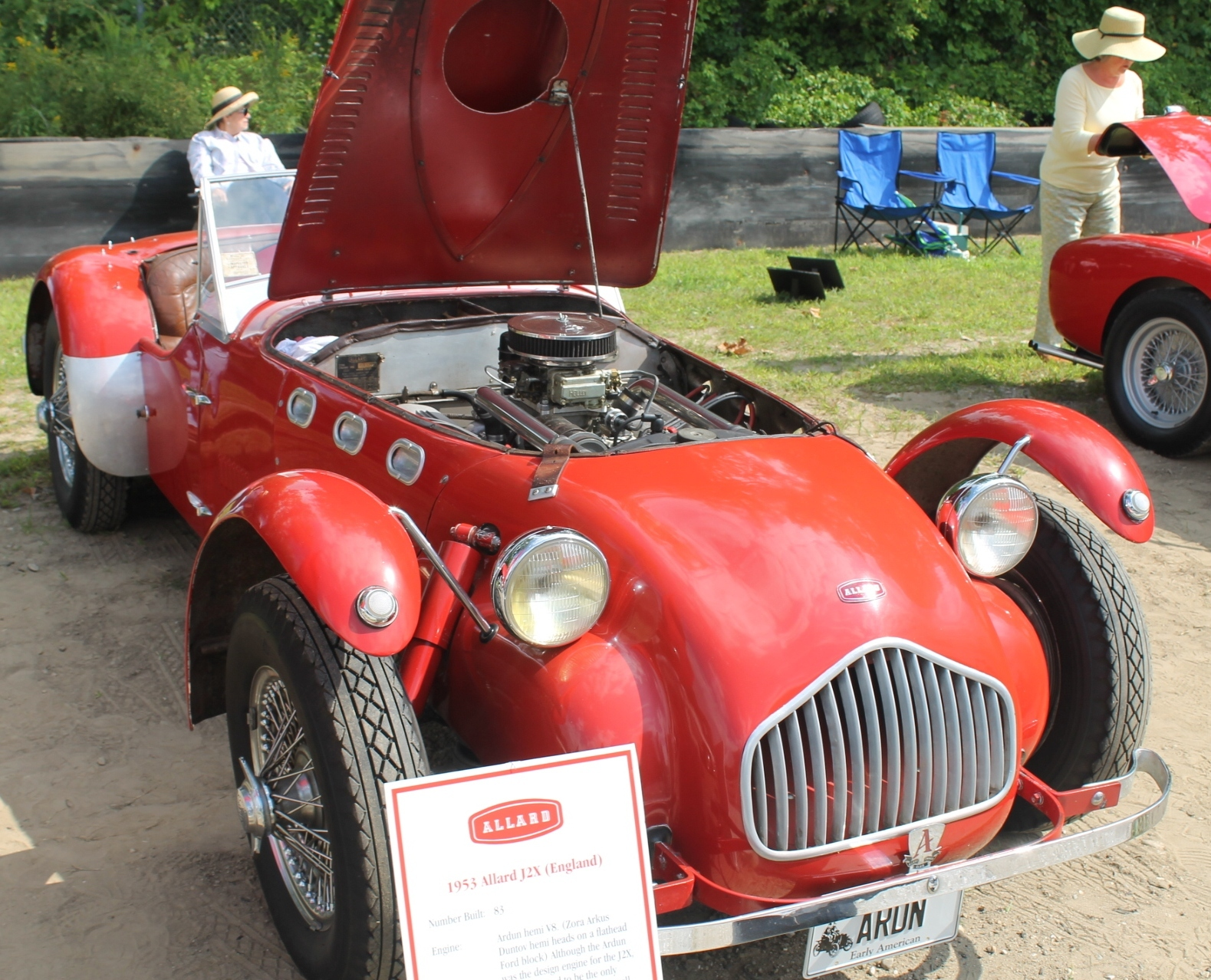 Allard J2x With Ardun Heads On A Ford Flathead V8 Engine Diagram The