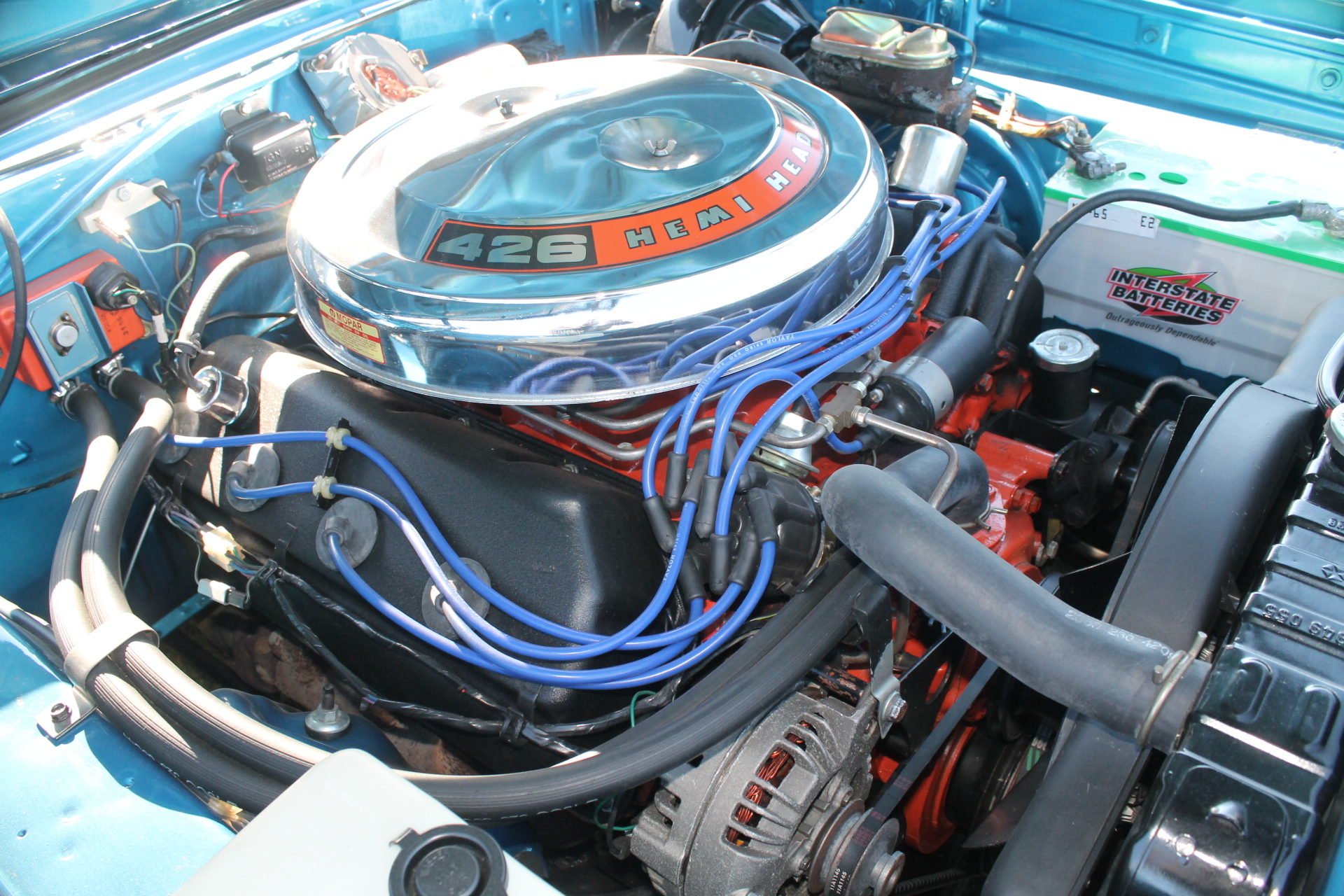The Real Hemi Chrysler 426 Cubic Inch Engine 1960 Plymouth Gtx Note