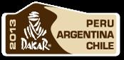 2013 Dakar plaque