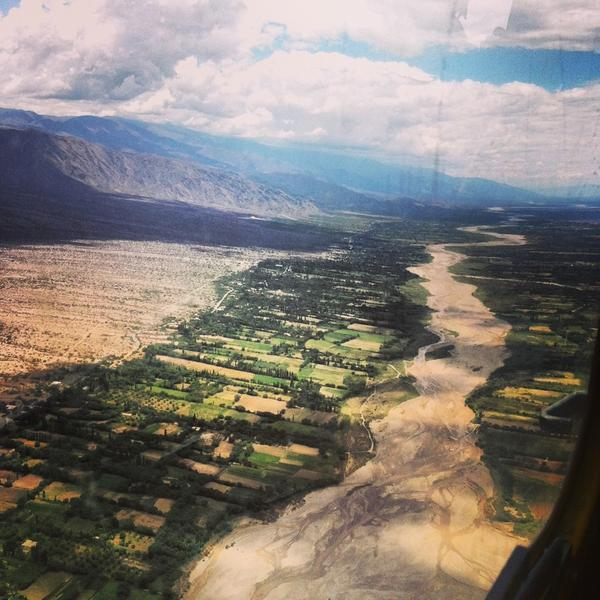 Landscape Between Salta and Tucuman