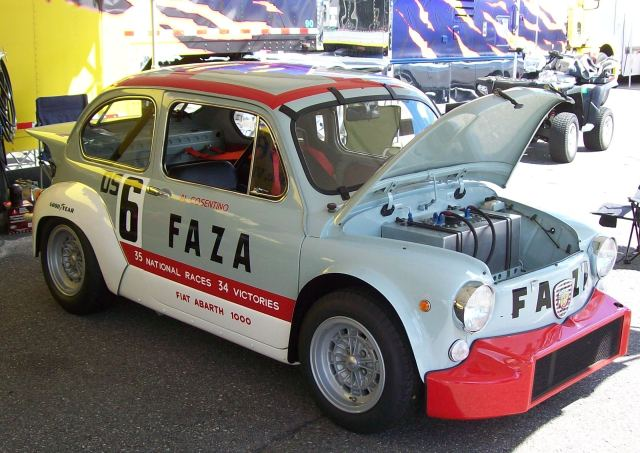 Some Fiat Abarth Cars Based On The Fiat 500
