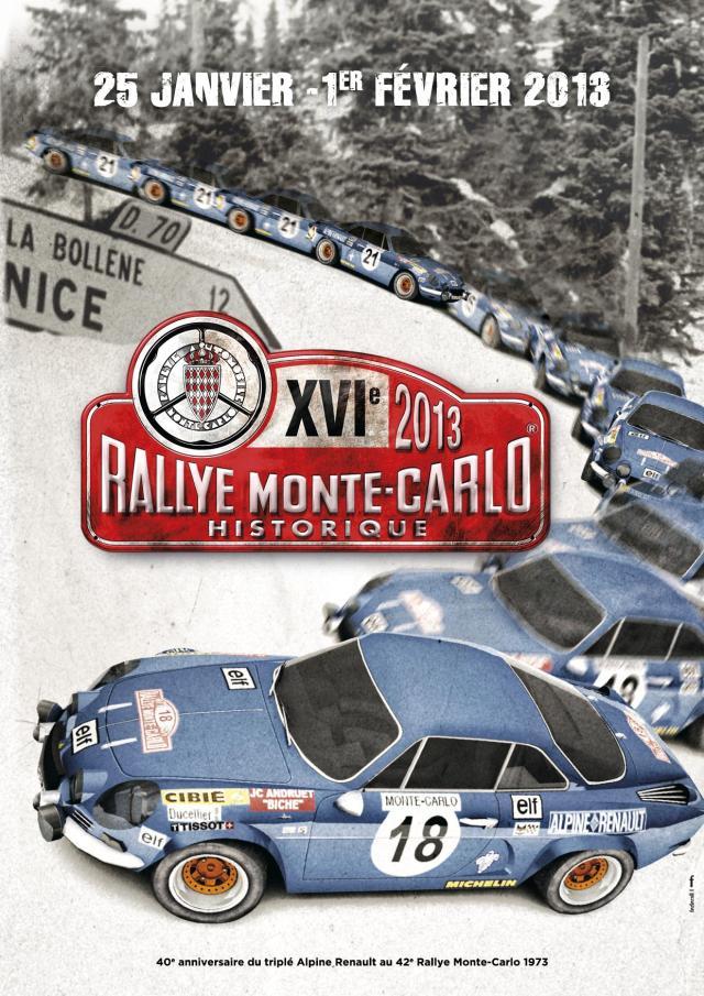 Historique Monte Carlo Poster 2013