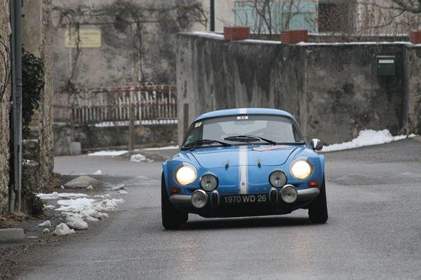 Historique RallyeMC 2013Alpine