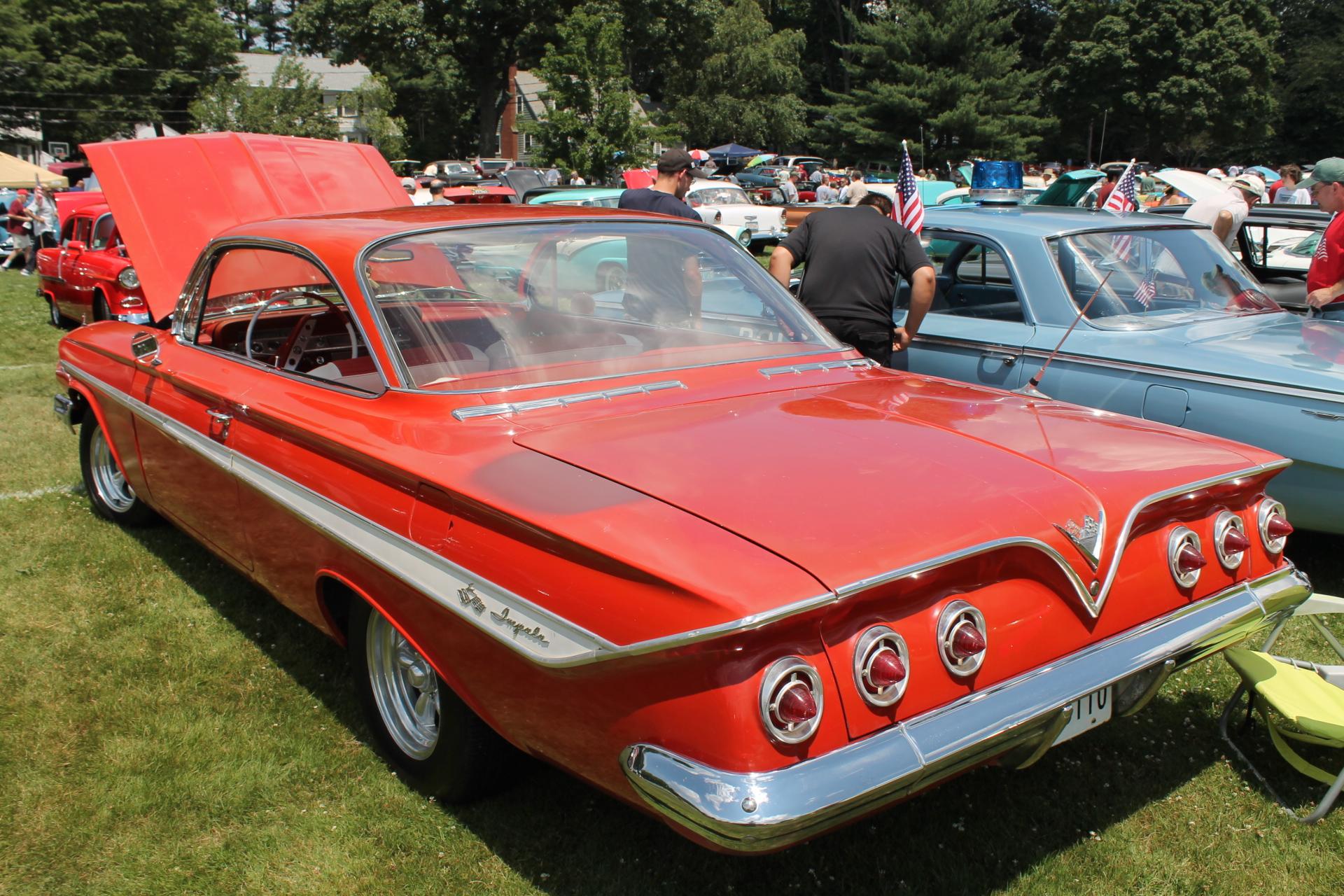 Chevrolet impala hardtop 1961 6