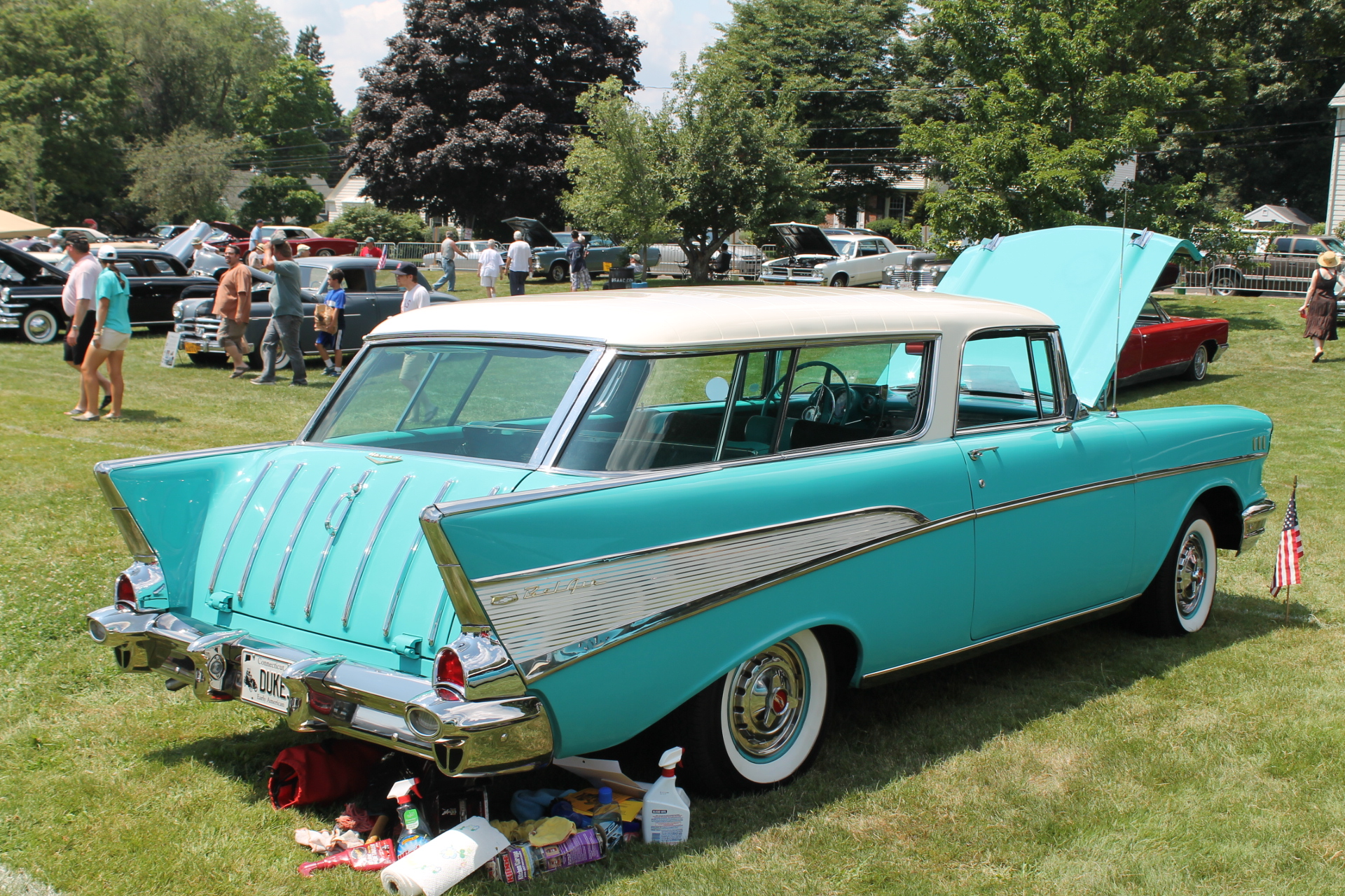 Nomad Car Chevrolet nomad wagon 1957 (1)