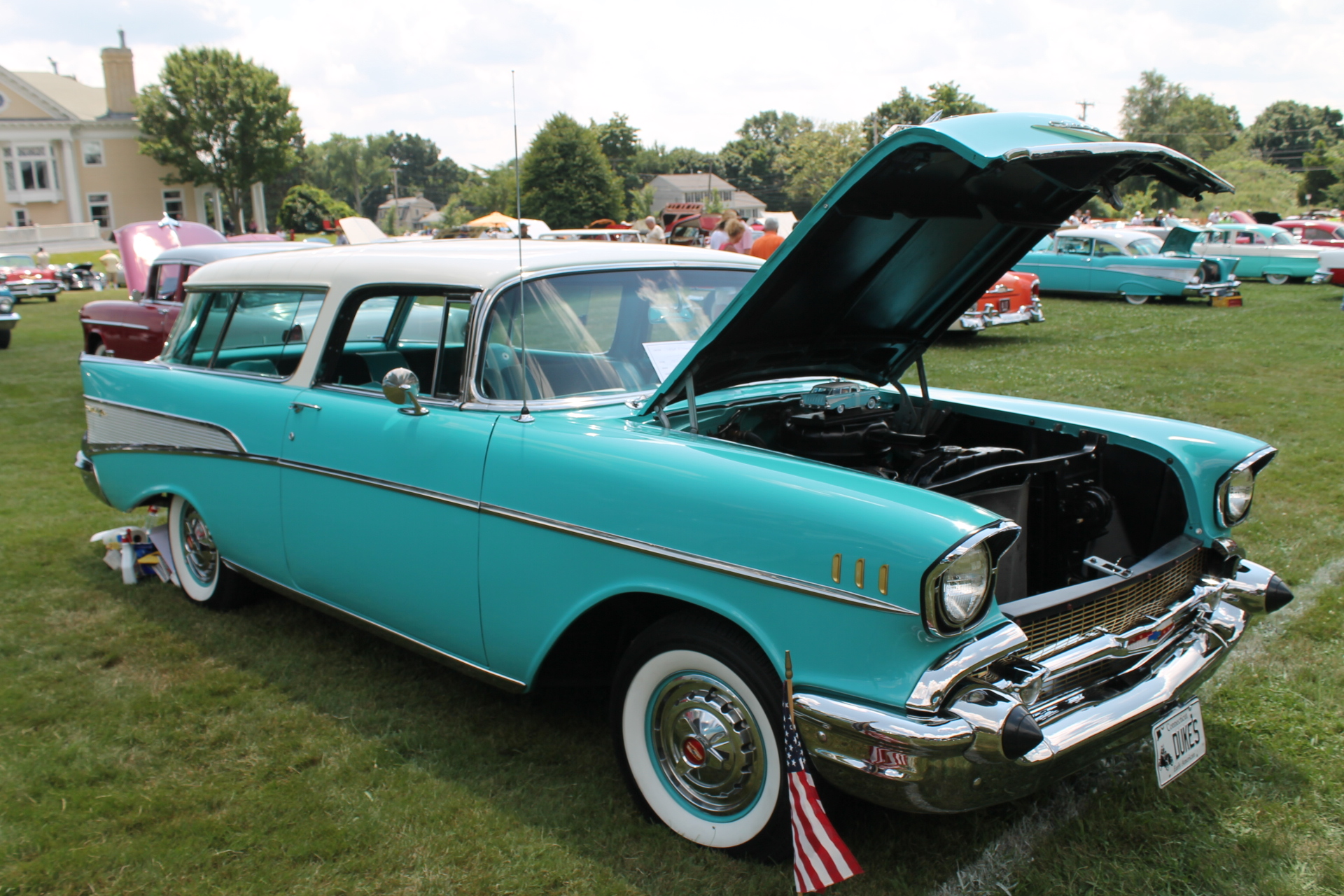 1957 Chevrolet Nomad Station Wagon Interior The Color Of This Was Quite Popular