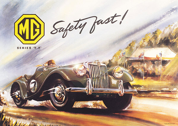 MG-TF Poster Safety Fast