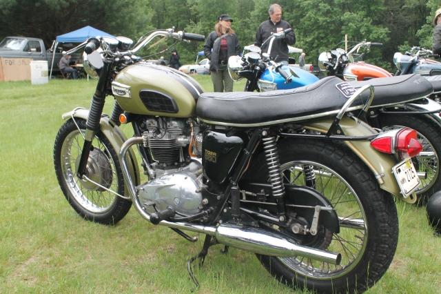 Triumph All Original 650cc 1970 (2)