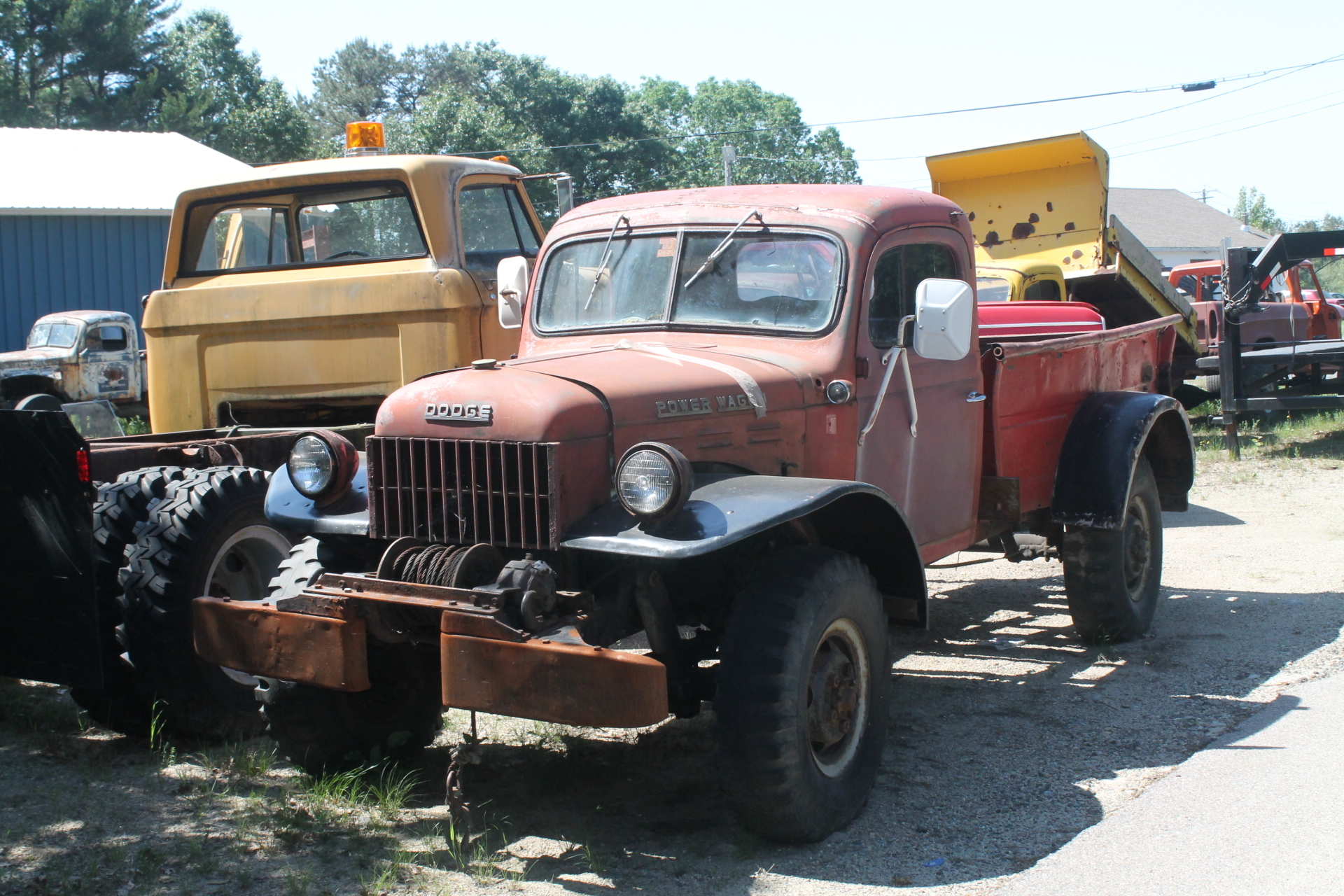 Motherlode of dodge power wagons for Motorized wagon for sale