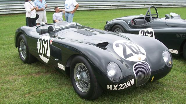 Jaguar Type C 1953