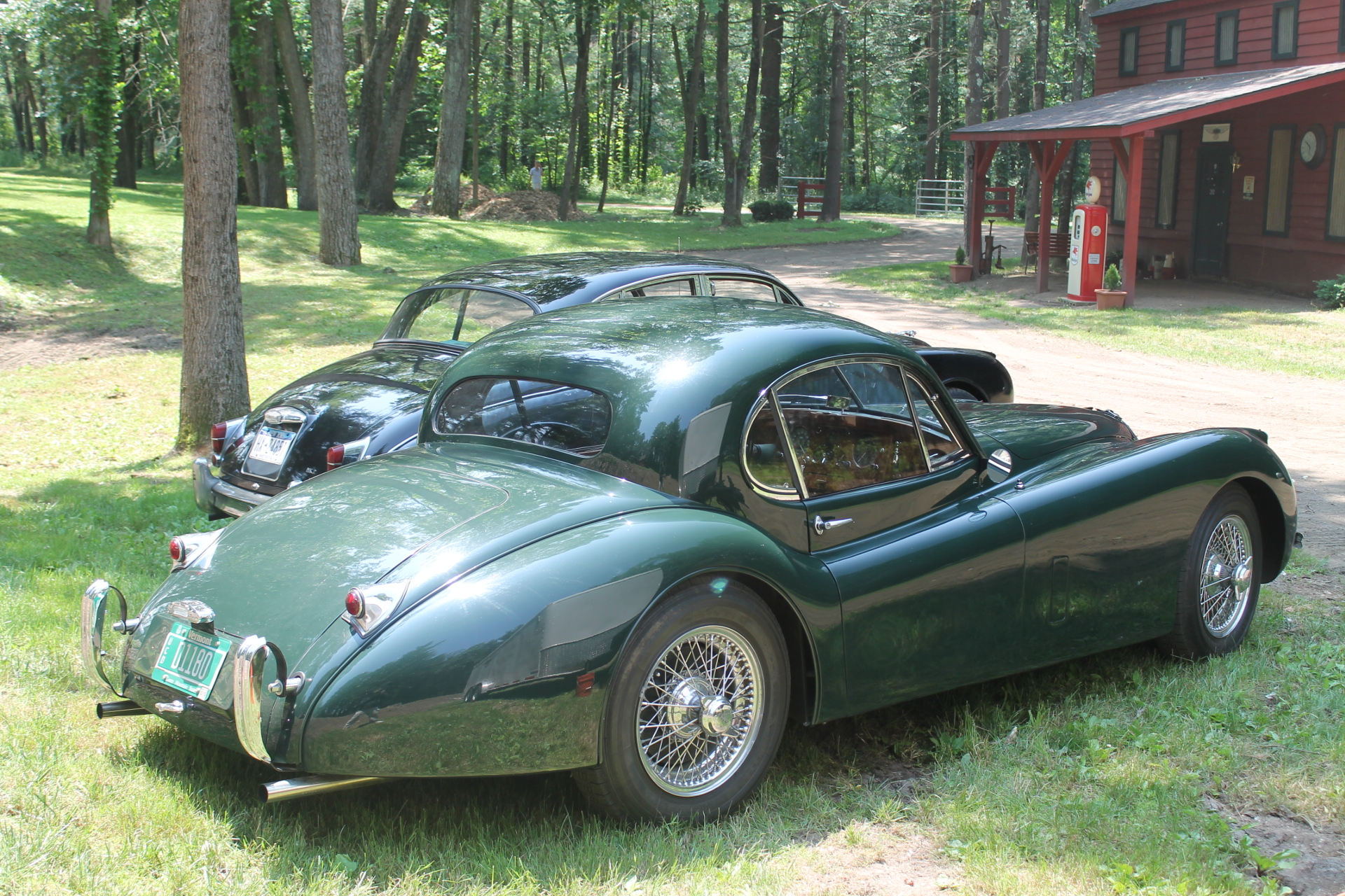 jaguar xk120 fixed head coupe. Black Bedroom Furniture Sets. Home Design Ideas