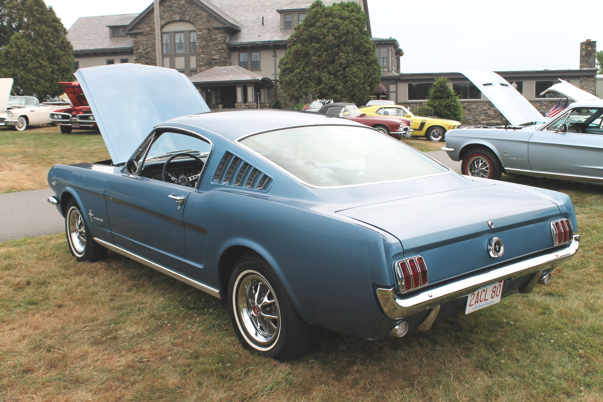 Ford mustang fastback 1965 3