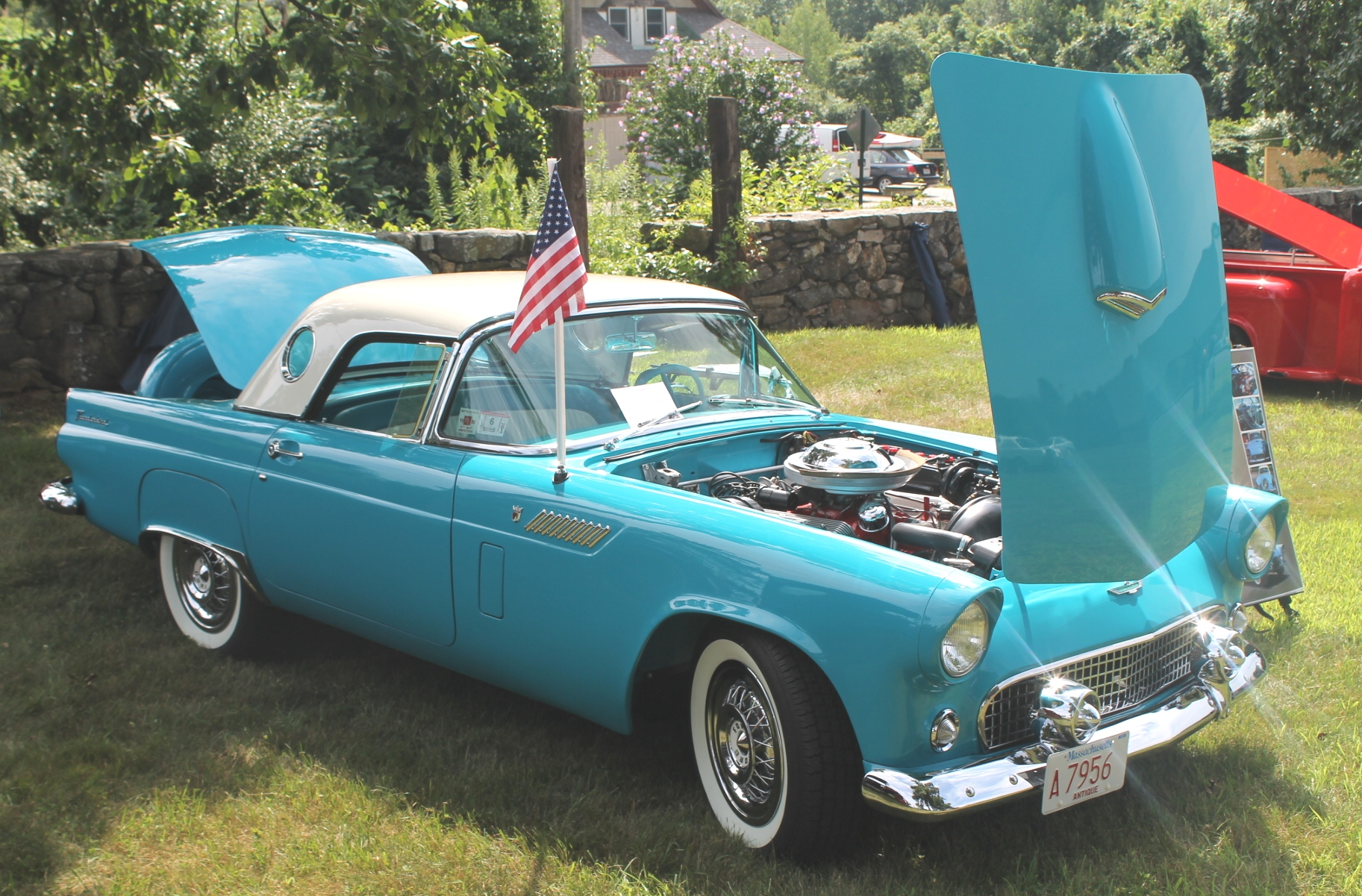 Ford thunderbird 1956 1