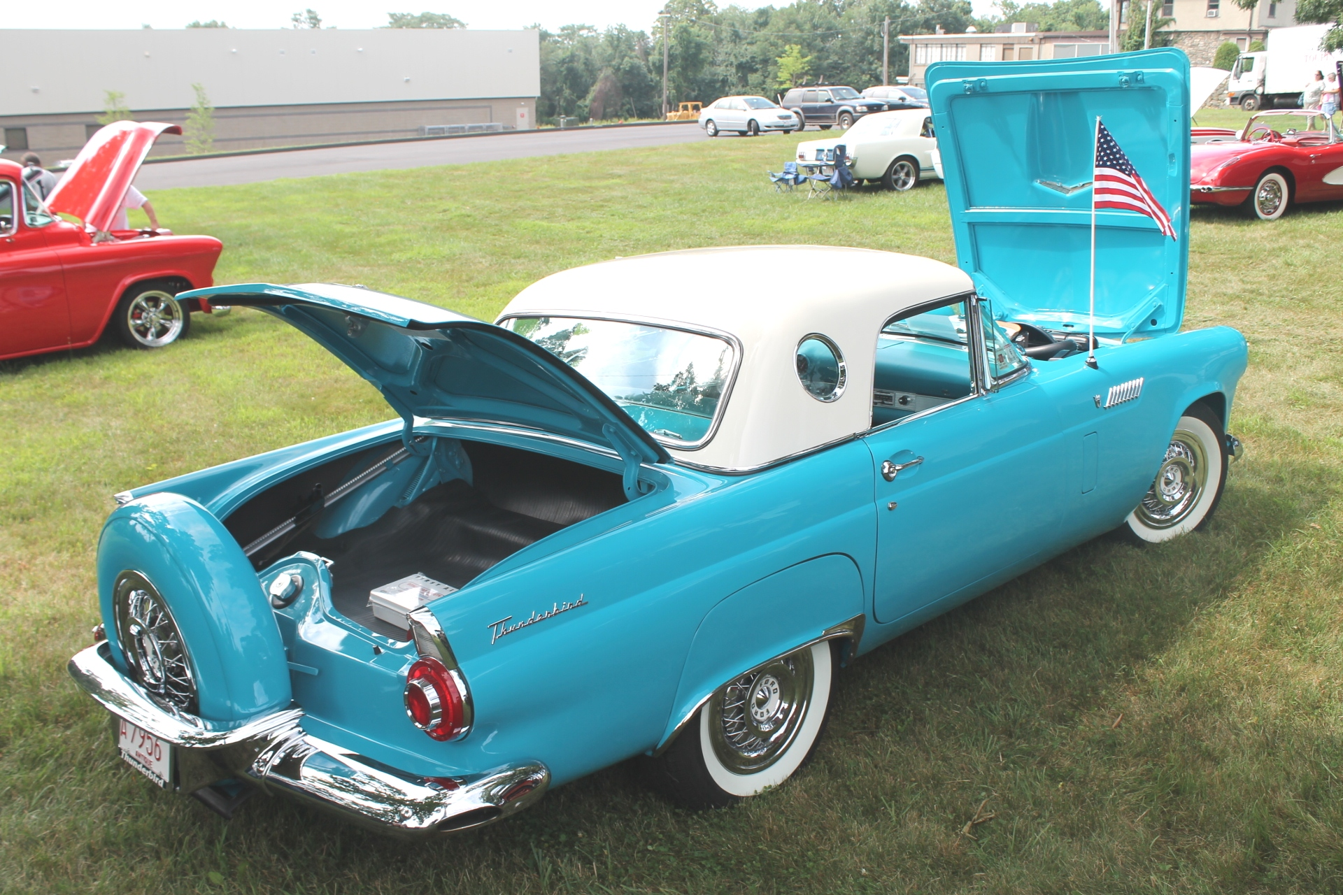 Ford thunderbird 1956 8
