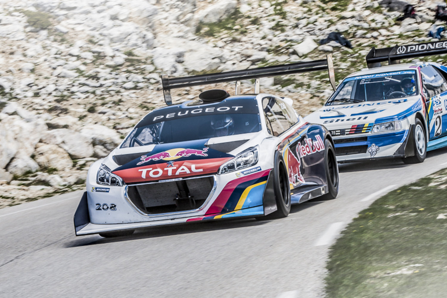 Sebastien Loeb And Peugeot Rule Pikes Peak