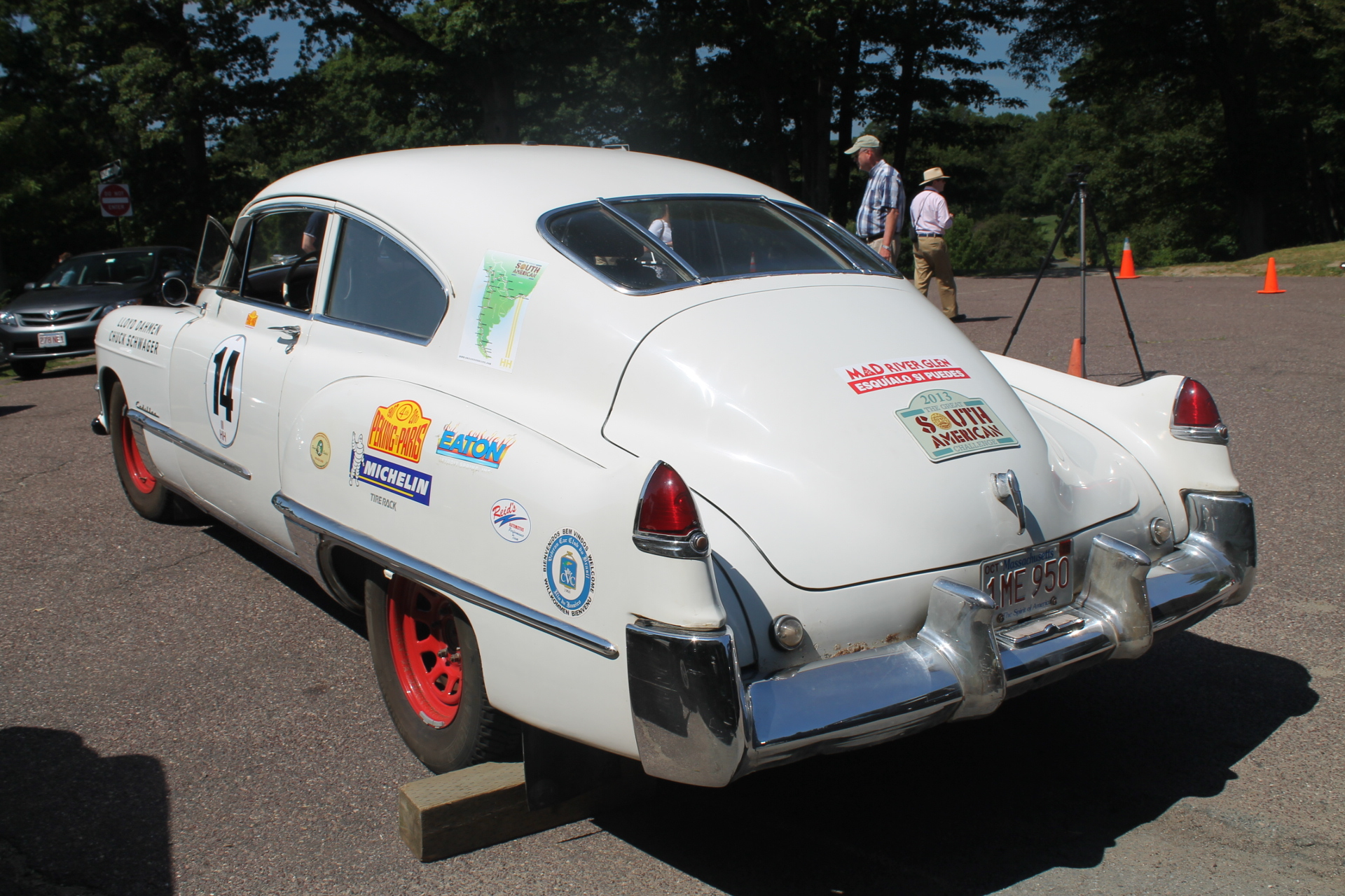 Massachusetts Based Marathon Rally 1949 Cadillac |