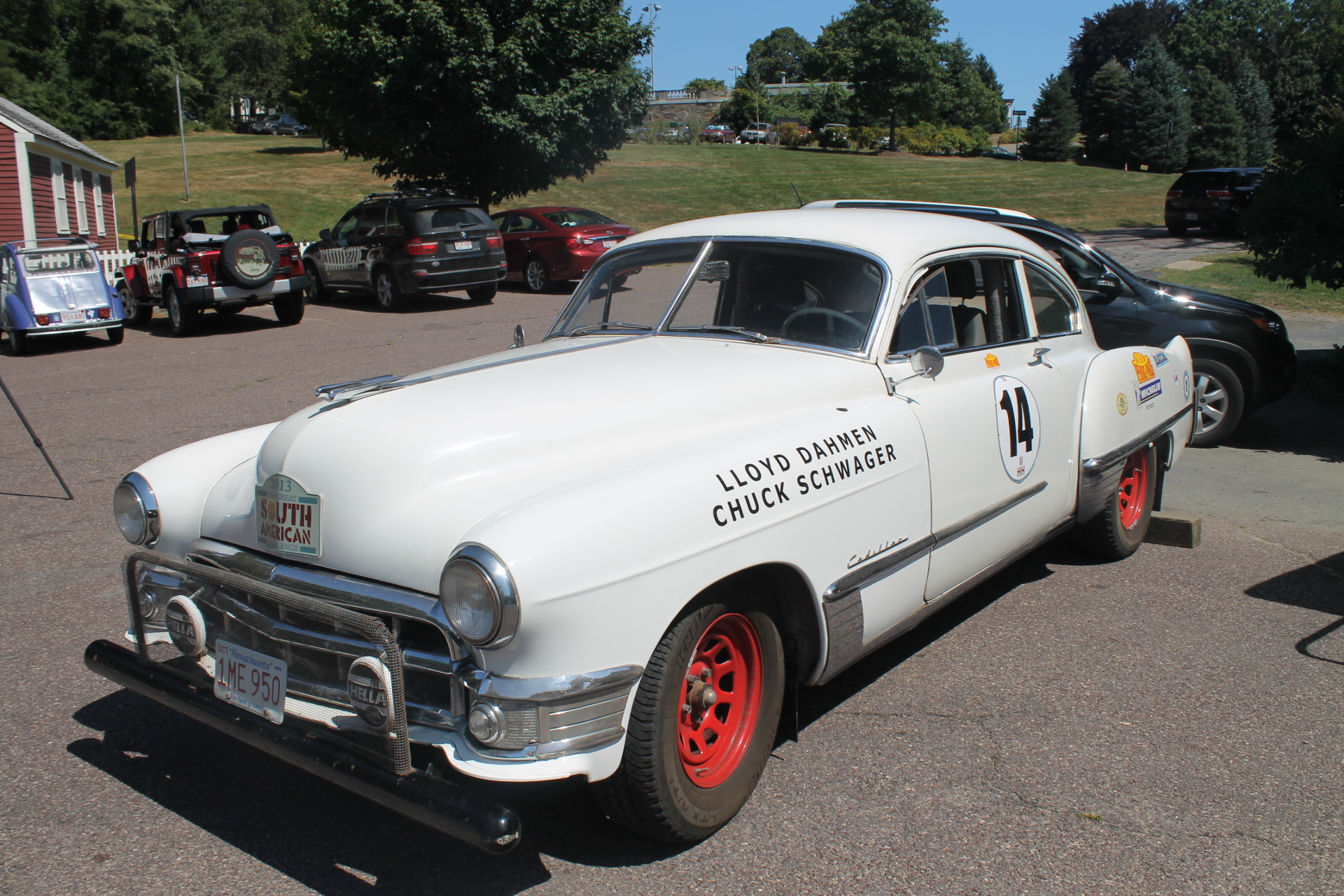 Massachusetts Based Marathon Rally 1949 Cadillac