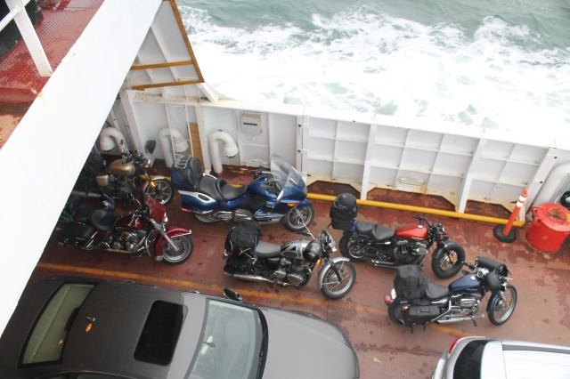 Bikes on the Ferry (2)