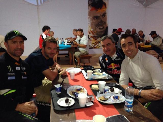 Loeb at Dakar