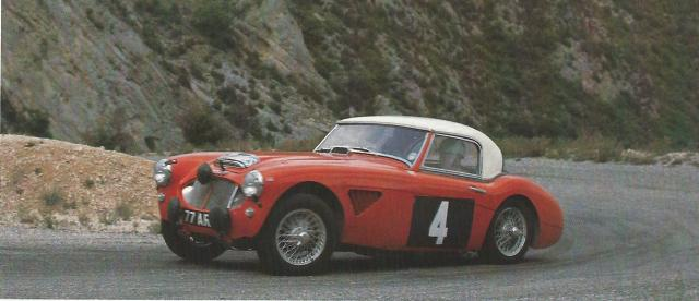 Big Healey Rally Car 1