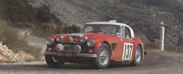 Big Healey Rally Car 2