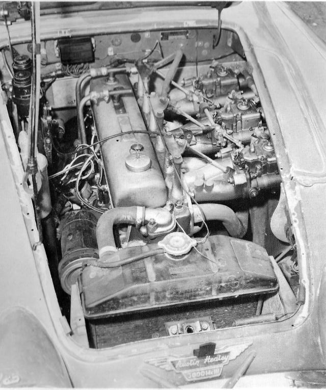 Big Healey Rally Engine