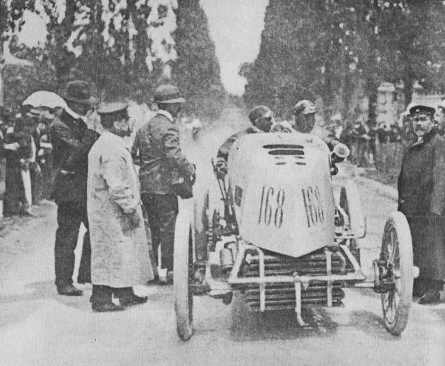 Gabriel Arriving in Bordeaux