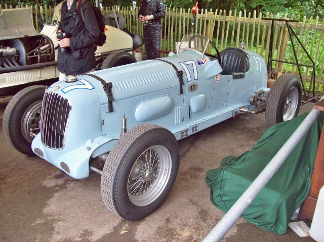 Parnell MG Race Car
