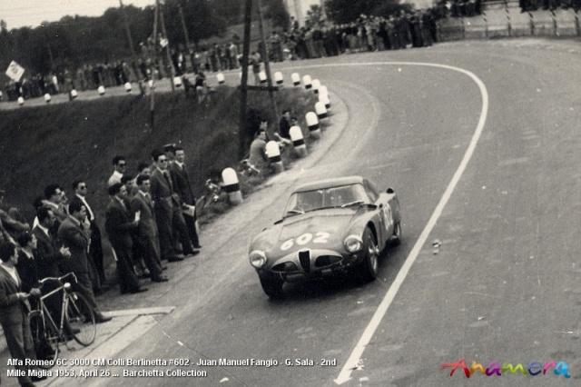 Alfa Romeo 6C 3000 CM Fangio 1953