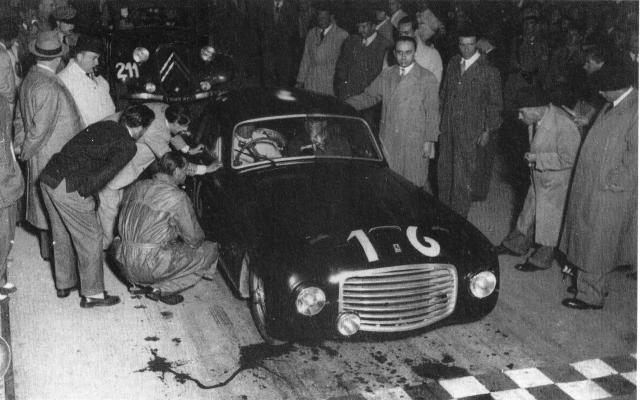 Biondetti Ferrari Winning MM
