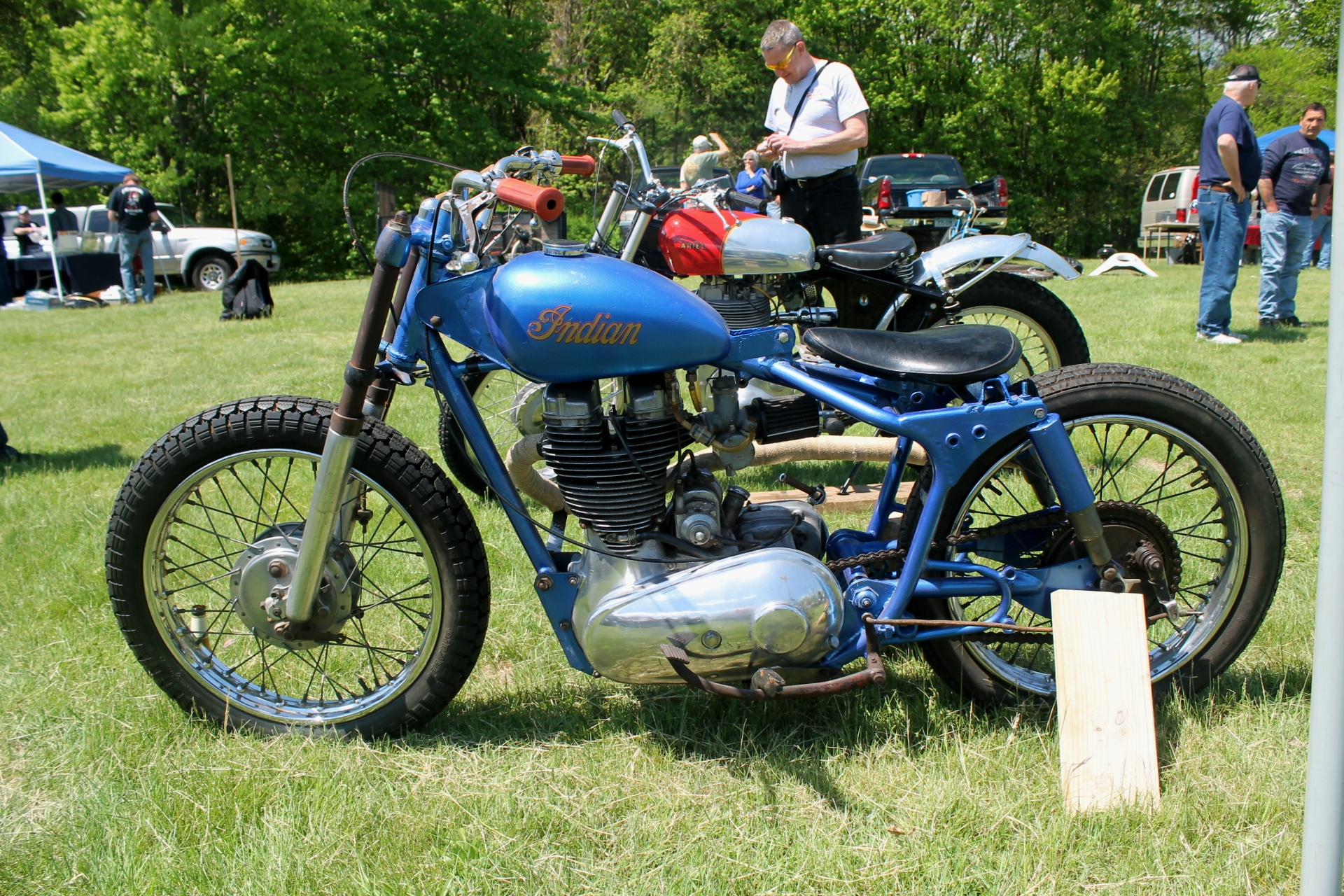 indian westener: an anglo-american motorcycle |