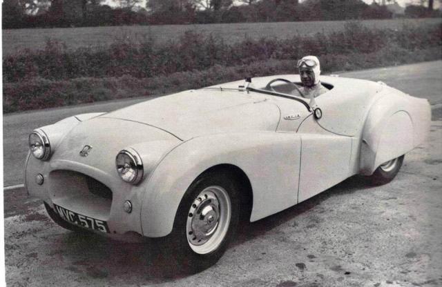 Jabbeke Triumph Car Photo