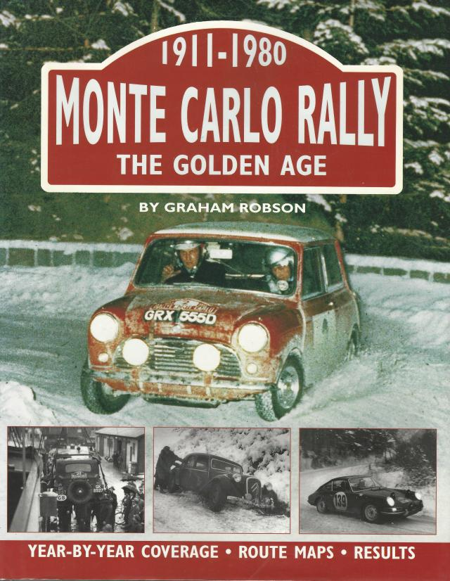 Monte Carlo Rally Book Cover