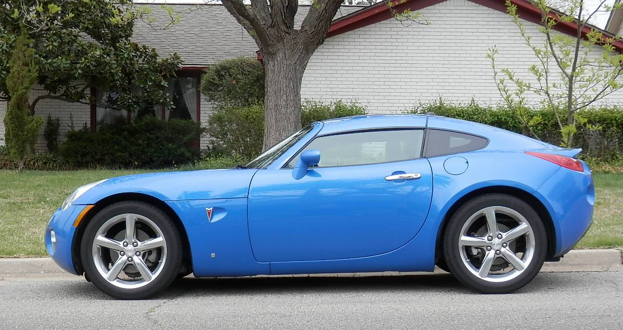You Will Not See Many Pontiac Solstice Coupes On The Street