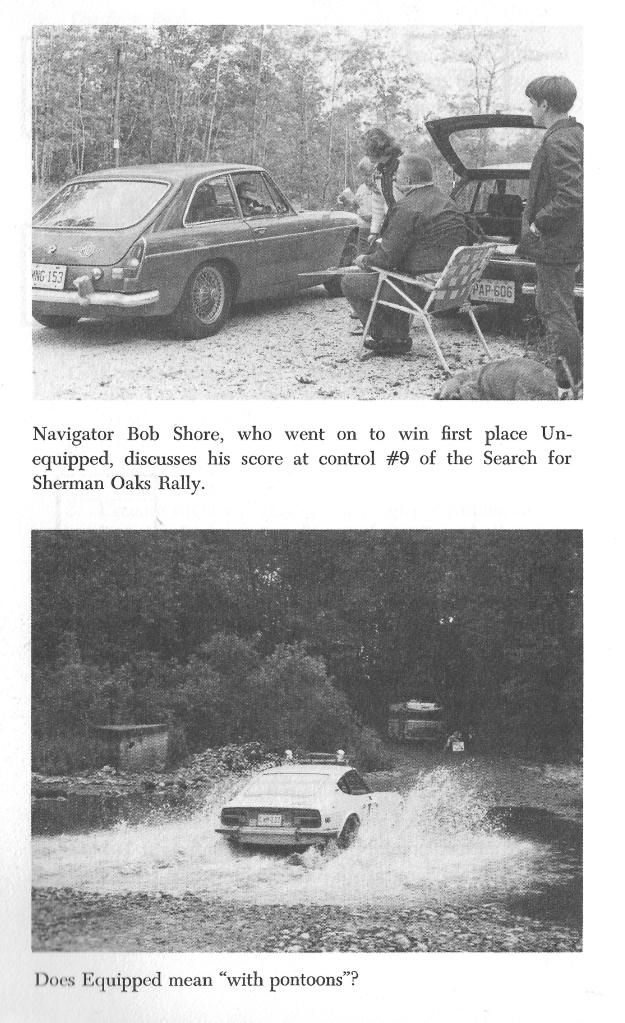 Hebb Showing MGB GT