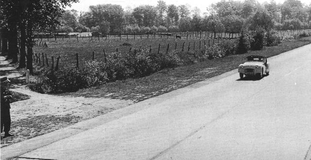 Jabbeke Standard Triumph Car