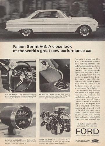 Ford Falcon Monte Carlo Ad