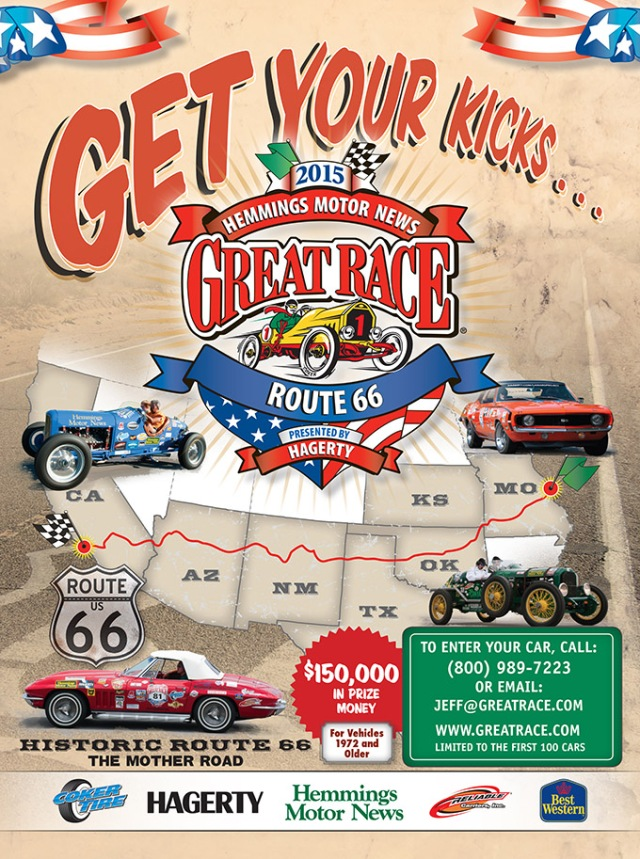 Great Race 2015 Poster Early