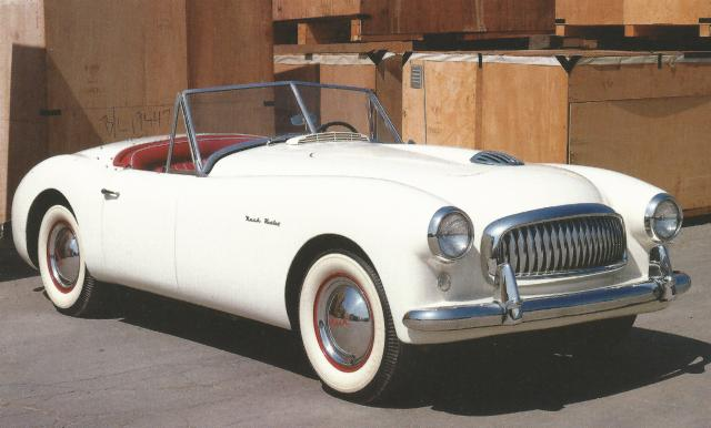Nash Healey Early Model